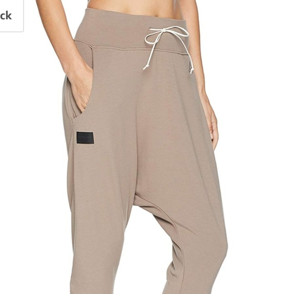 reebok drop crotch joggers